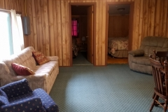 Cabin 5's spacious living room