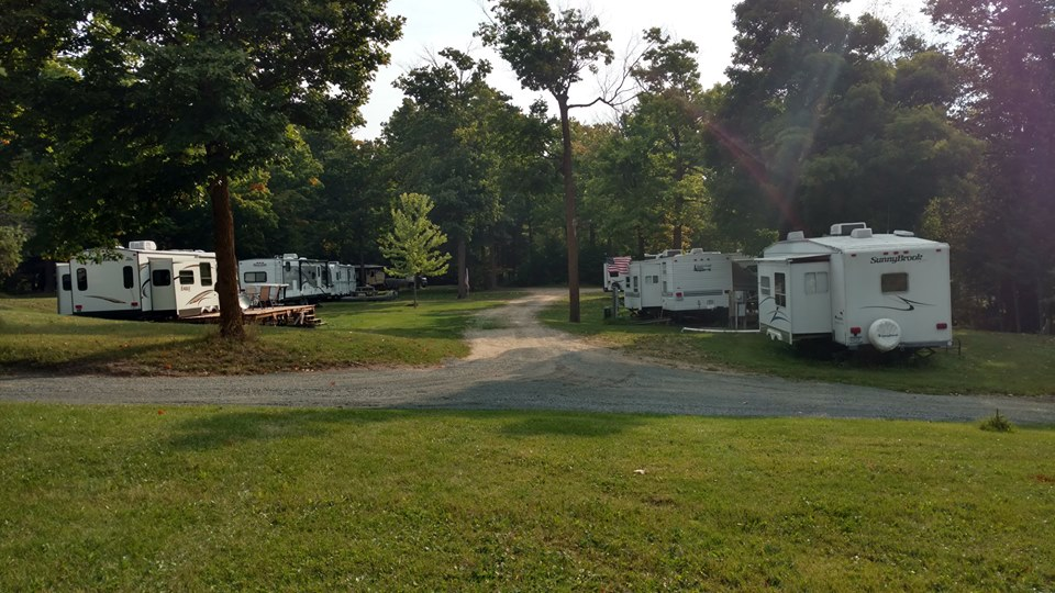 Campsites and RV lot rentals