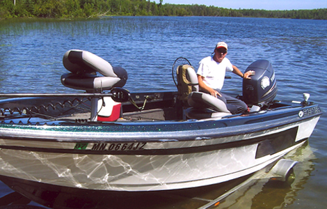 Fishing Guide Services on Gull Lake