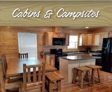 Cabins and Campsites at Eagle Ridge Resort