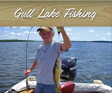 Gull Lake fishing