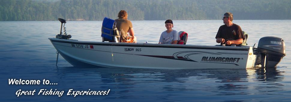 Gull Lake fishing experience
