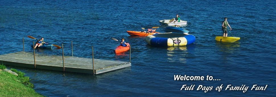 summer fun on Gull Lake